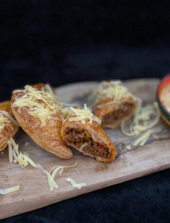 Empanada en malbec