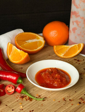 Sinaasappel chili sambal